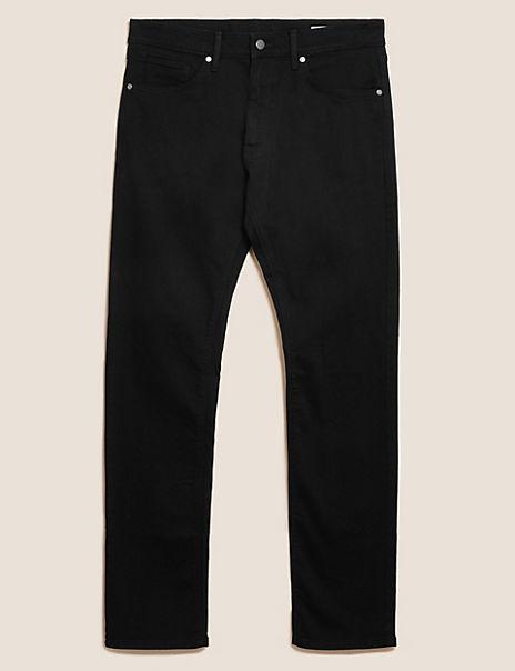 Big & Tall Straight Fit Stretch Jeans