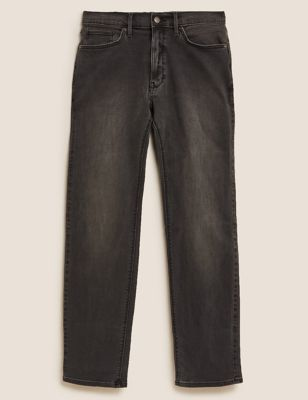 Straight Fit Stretch Jeans