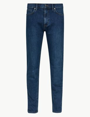 Shorter Length Slim Fit Stretch Jeans