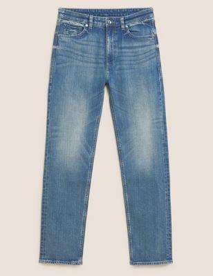 Vintage-Wash Jeans