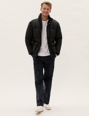 Regular Fit Zip-Off Trekking Cargo Trousers