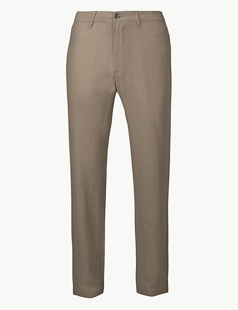 Linen Rich Trousers