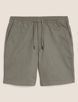 Organic Cotton Elasticated Chino Short