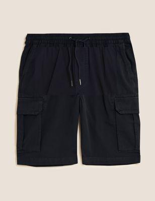 Elasticated Cargo Shorts