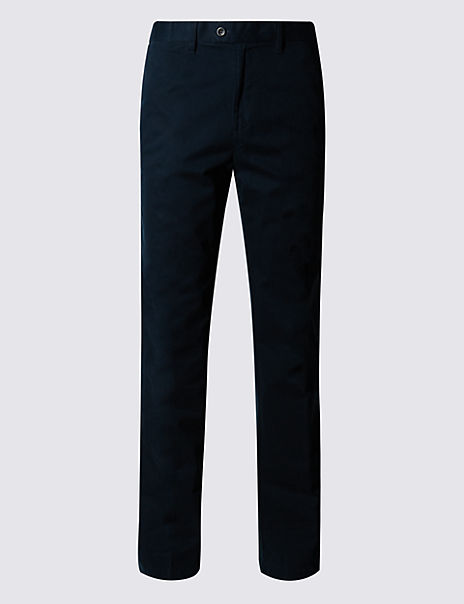 Regular Fit Pure Cotton Chinos with Stormwear™