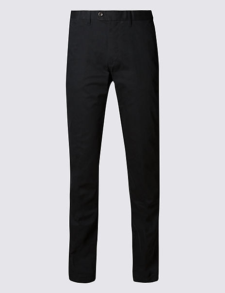 Slim Fit Pure Cotton Chinos with Stormwear™
