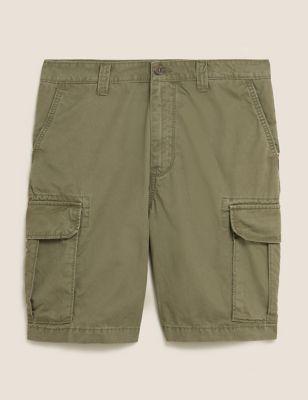 Organic Cotton Cargo Shorts