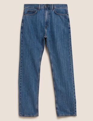 Big & Tall Regular Fit Cotton Jeans