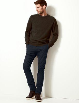 Big & Tall Slim Fit Stretch Chinos