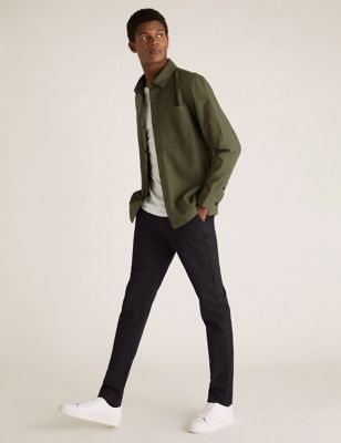 2 Pack Skinny Fit Stretch Chinos