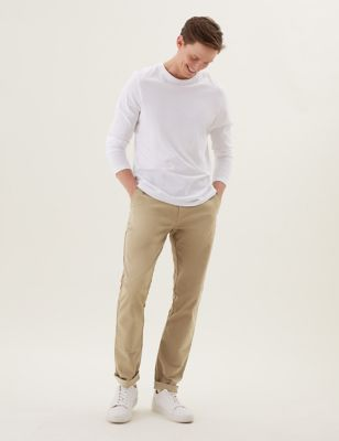 2 Pack Slim Fit Stretch Chinos