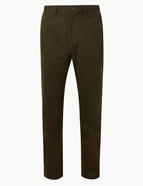 Cotton Rich Chinos with Stretch