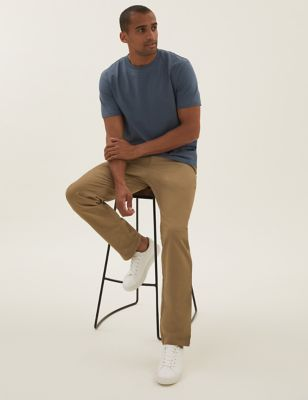 2 Pack Regular Fit Elasticated Trousers