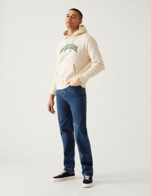 Messieurs Jeansnet regular fit jeans Nº 1606 Denim stone washed pantalon pantalons