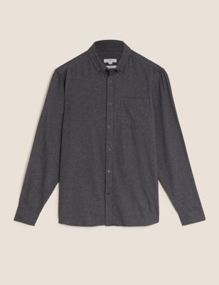 Pure Cotton Flannel Shirt