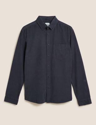 Pure Cotton Corduroy Shirt
