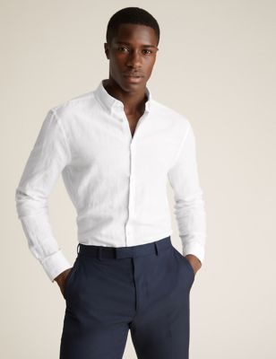 Easy Iron Linen Shirt