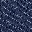 Easy Iron Pure Cotton Pindot Shirt - navymix