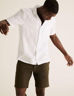 Pure Linen Revere Shirt