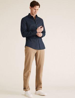 Slim Fit Pure Linen Shirt