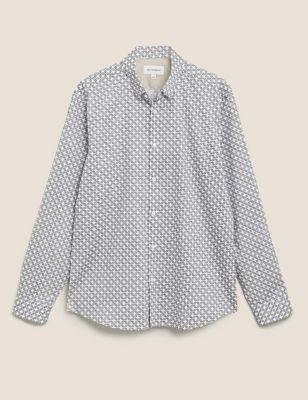 Cotton Print Shirt