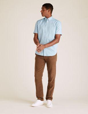 Pure Cotton Anchor Print Shirt