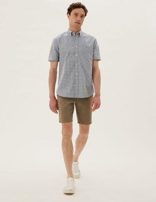 Pure Cotton Gingham Check Shirt