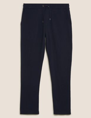 Pure Cotton Straight Leg Joggers