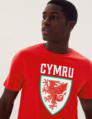 Pure Cotton Wales FA™ Graphic T-Shirt