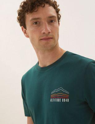 Pure Cotton Graphic Print T-Shirt