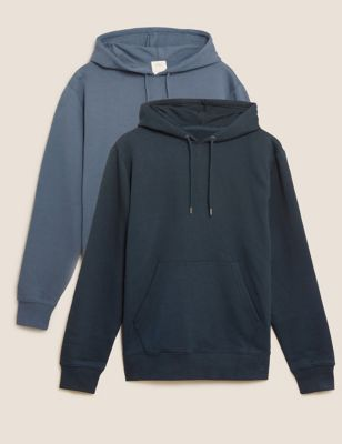 2 Pack Pure Cotton Hoodies