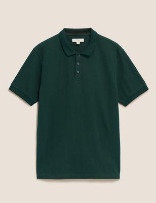 Cotton Textured Polo Shirt