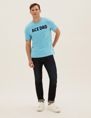 Pure Cotton Print T-Shirt