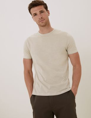 Premium Cotton Striped T-Shirt