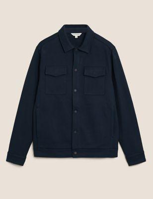 Premium Cotton Textured Overshirt
