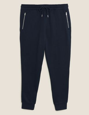 Cuffed Pure Cotton Smart Joggers