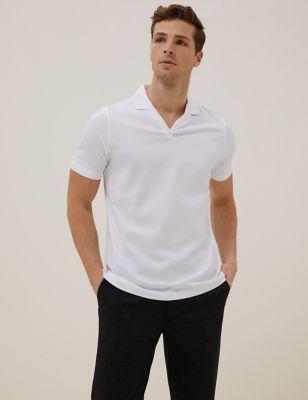 Premium Cotton Revere Polo Shirt