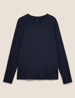 Pure Cotton Long Sleeve T-Shirt