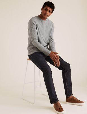 Pure Cotton Long Sleeve T-Shirt
