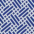 Geometric Print Swim Shorts - navymix