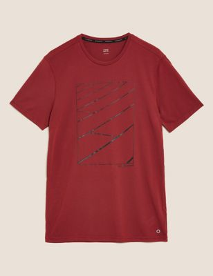 Slim Fit Sports Graphic T-Shirt