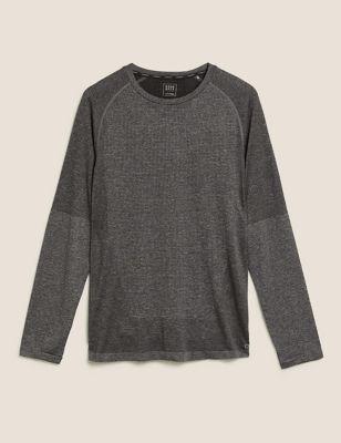 Seam Free Raglan Long Sleeve T-Shirt