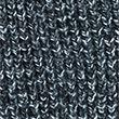 Chunky Shawl Collar Cardigan with Wool - navy