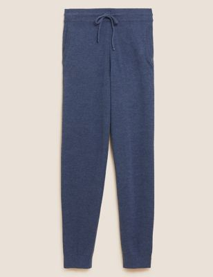 Pure Cotton Knitted Joggers