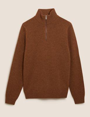 The Lambswool Half-Zip