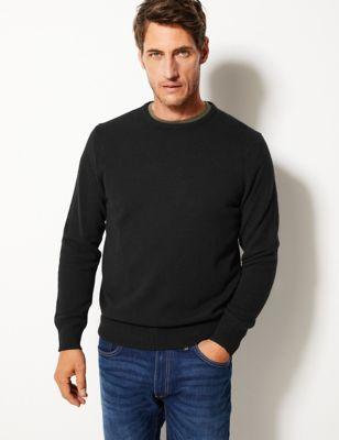 Pure Extra Fine Lambswool Crew Neck Jumper