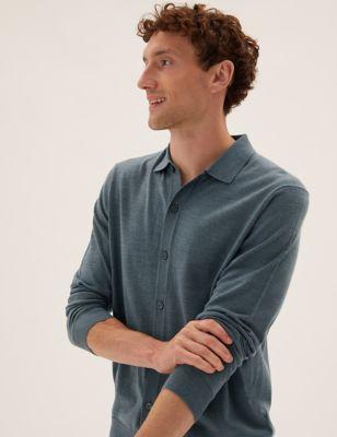 Pure Extra Fine Merino Polo Shirt