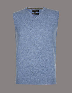 Pure Cashmere Slipover Jumper, LIGHT BLUE, catlanding