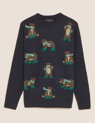 Bear Christmas Jumper