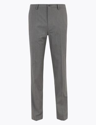 Big & Tall Regular Fit Puppytooth Trousers